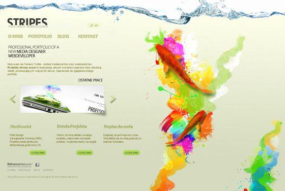 stripes-design创意网站设计