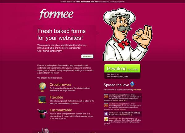 Formee网站设计鉴赏