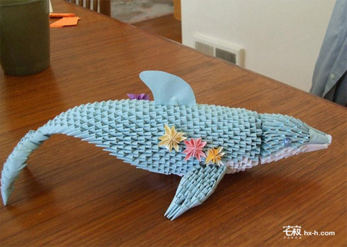日本小学生人休艺术_日本百年立体折纸艺术作品欣赏